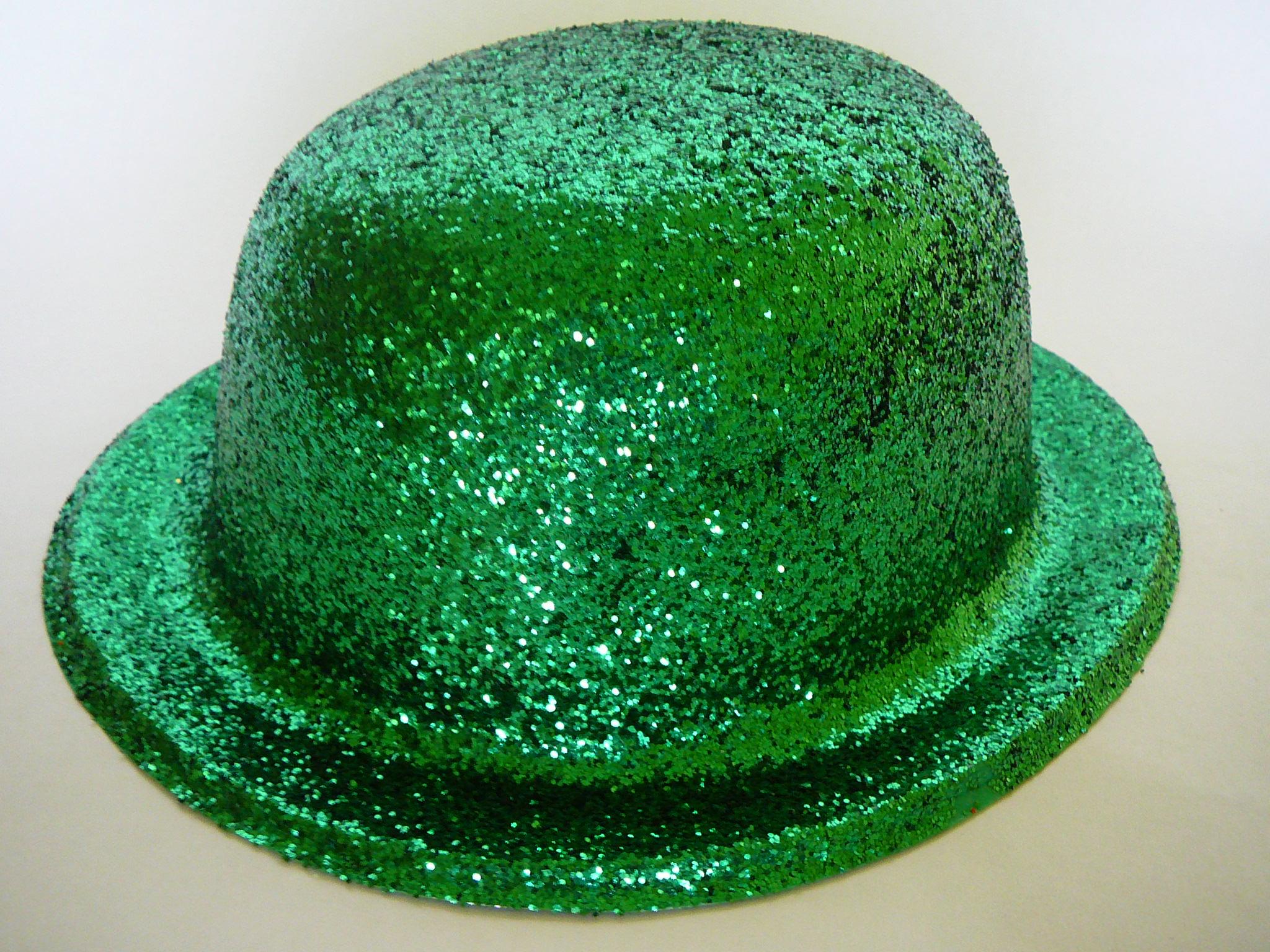 Buřinka s glitry zelená 79587fbdbe