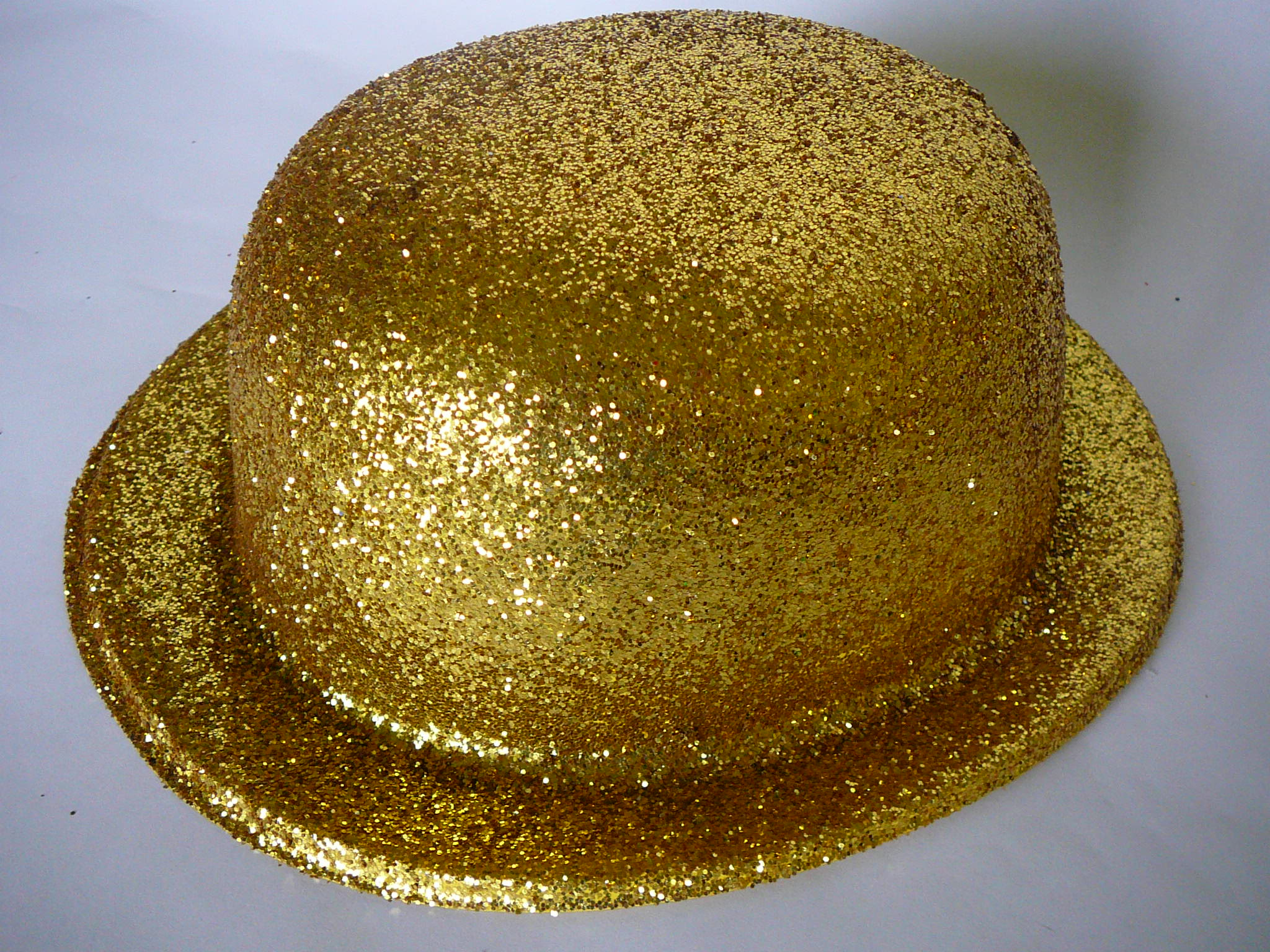 Buřinka s glitry zlatá e58ec245c2