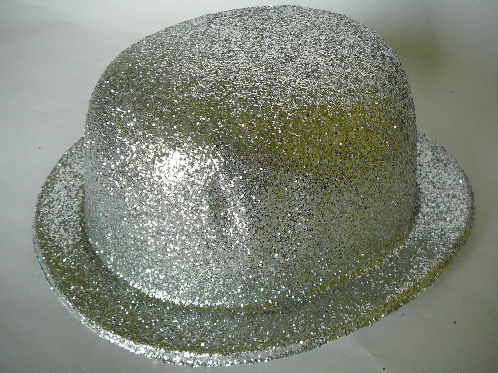 Buřinka s glitry stříbrná a35b7b414d