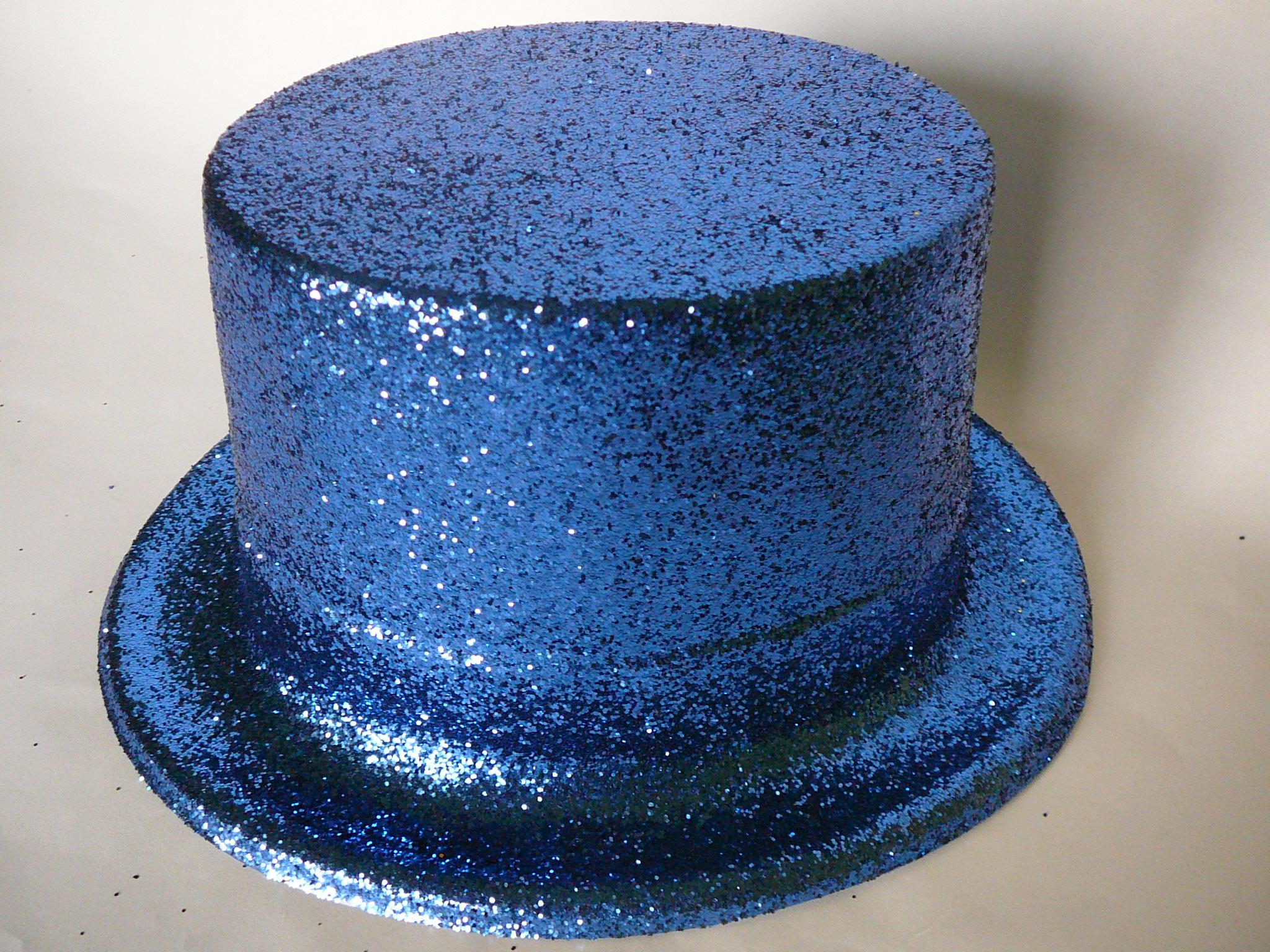 Cylindr s glitry modrý 7c191c6c8b